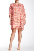BB Dakota Piers Two-Piece Set Shift Dress (Plus Size)