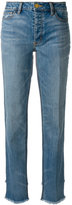 Tory Burch straight jeans - women - Cotton/Spandex/Elastane - 25