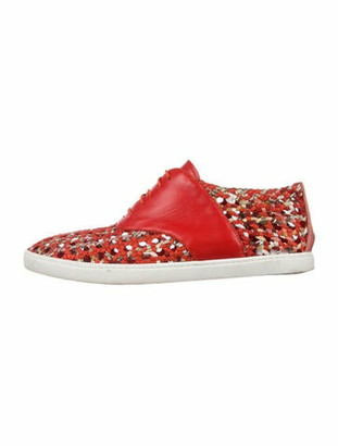 Hermes Oxygene Sneakers Red