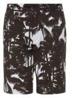 Hugo Boss Hano Slim Fit, Cotton Printed Shorts 32R Patterned