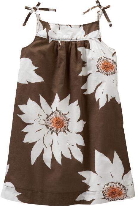 Gap Sunflower tank dress
