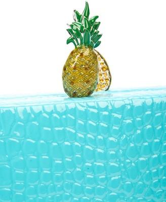 Edie Parker Embossed Fruit Box Clutch
