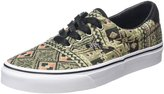 Vans Unisex Era 59 (Moroccan Geo) Black/Ivy Green Skate Shoe 7.5 Men US / 9 Women US