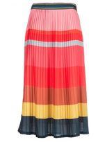 Paul Smith Striped Pleated Skirt