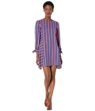 Rock and Roll Cowgirl Striped Dress D4-2555