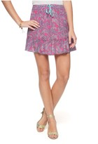 Juicy Couture Silk Ipanema Paisley Skirt