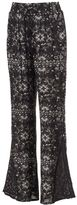 Mudd Juniors' Crochet Wide Leg Pants