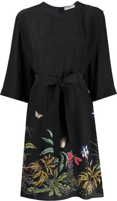 Givenchy Embroidered Floral Midi Dress