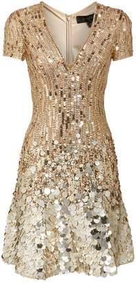 Jenny Packham Fifi Sequin Midi Dress