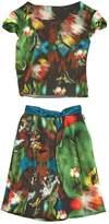 Erdem Green Silk Skirt for Women