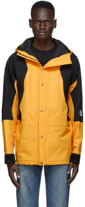 The North Face Yellow and Black 1994 Retro Mountain Light Jacket