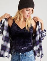 American Eagle Outfitters AE Soft & Sexy Velvet Crop Cami