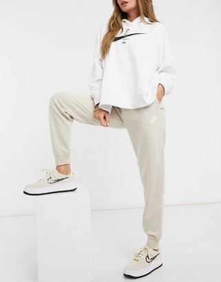 Nike essentials loose sweatpants in oatmeal