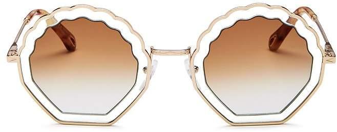 Chloé Women's Tally Octagonal Sunglasses, 53mm