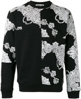 McQ by Alexander McQueen Phoenix Paisley printed sweatshirt - men - Cotton - L