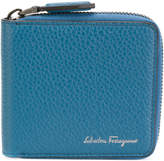 Salvatore Ferragamo two-tone zipped wallet