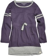 Burt's Bees Baby Varsity Tee Dress (Baby) - Blackberry-0-3 Months