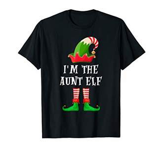 Im The Aunt Elf Ugly Christmas Sweater Pajamas Gift T-Shirt