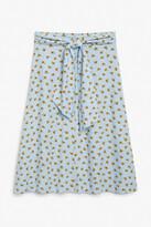Thumbnail for your product : Monki Tie-waist midi skirt
