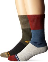 Oakley Men's Blocked Heather Sock