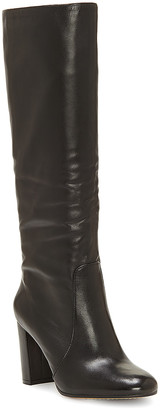 Vince Camuto Women's Casual boots BLACK - Black Sessily Leather Boot - Women