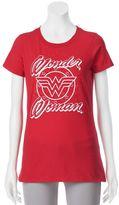 Juniors' DC Comics Wonder Woman Large Logo Graphic Tee