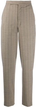 Wandering Tapered Pinstripe Trousers