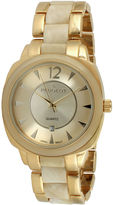 Peugeot Womens Two-Tone Bracelet Watch 7096GCR