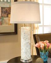 Regina Andrew Mother of Pearl Column Table Lamp