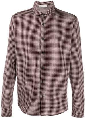 Etro geometric embroidered shirt