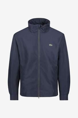 Lacoste Mens Nylon Jacket - Blue