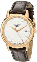 Tissot Men's T0854103601100 Carson Analog Display Swiss Quartz Brown Watch