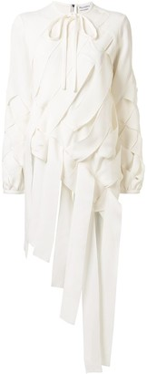 J.W.Anderson Basketweave Ribbons Blouse