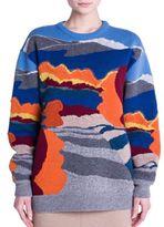 Stella McCartney Mountain Knit Wool Sweater