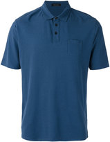 Roberto Collina chest pocket polo shirt
