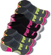 Puma Women's No Show All Sport Athletic Socks 6-Pair
