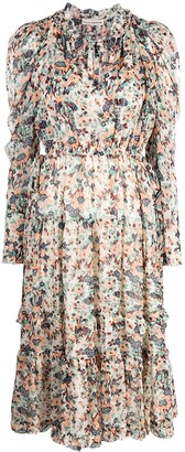 Ulla Johnson Beatrice floral print dress