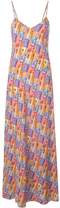 Lhd Printed Maxi Dress