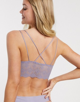 Gilly Hicks long line strappy back lace bralette