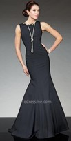 Tony Bowls Le Gala Sleeveless Crepe Evening Gown