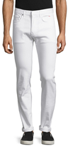 Christian Dior Solid Slim Fit Jeans