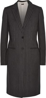 Joseph Pinstriped Cotton-twill Coat