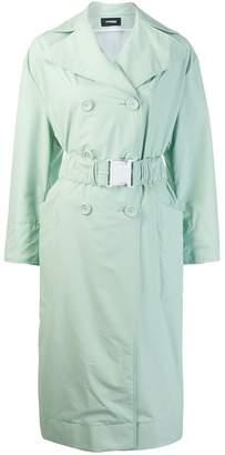 Kwaidan Editions oversized belt trench coat