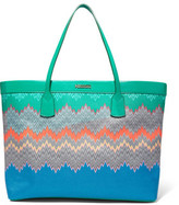 Missoni Printed Canvas Tote