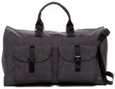 hook + ALBERT Melange Fabric Garment Weekend Bag