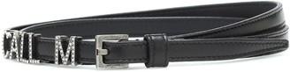 Saint Laurent Call Me embellished leather belt