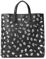 Michael Kors Jeweled Leather Tote