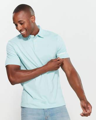 Calvin Klein Jeans Logo Stripe Polo