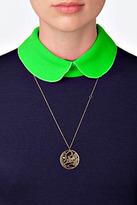 Jennifer Zeuner Jewelry Eden Necklace in Yellow Vermeil