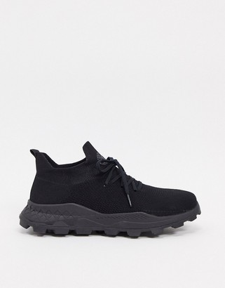 Timberland brooklyn sneakers in jet black